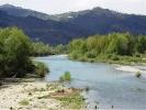 il fiume Vara a Ceparana
